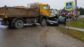 Mirtino eismo įvykio Marijampolės Vasaros ir Saulės gatvių sankryžoje padariniai