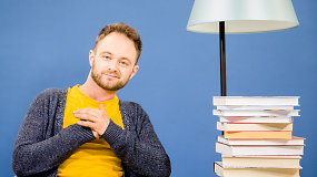 D.Vaitiekūnas – apie knygoms išleistą pirmą stipendiją ir geriausius skaitytus kūrinius
