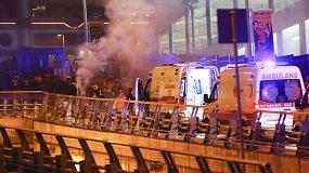 Prie Stambulo futbolo arenos nugriaudėjo du sprogimai
