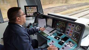 Traukinio mašinisto kabinoje: nuo Vilniaus iki Kauno per pavojingiausias pervažas