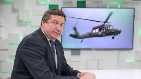 """Kodėl Lietuva sraigtasparnius """"Black Hawk"""" pirks iš JAV vyriausybės?"""