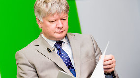 """Aplinkos ministras K.Navickas: """"Padarėm įrenginius, kurie maltų orą"""""""