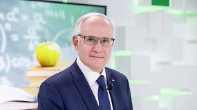 Naujasis švietimo ministras: reikia tvarkyti mokyklų tinklą, kad ženkliai sumažėtų kontrastai