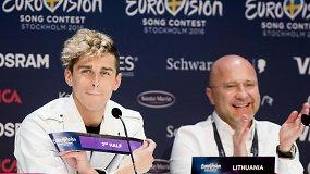 """Į """"Eurovizijos"""" finalą žengęs Donatas Montvydas: """"Laukiau šios nakties"""""""