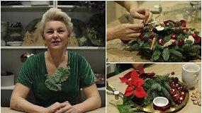 Kuriame šventinį jaukumą namuose: paprastos kalėdinės dekoracijos, kurias pasidarys kiekvienas