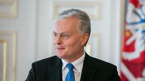 """G.Nausėda: """"Šitos Vyriausybės tikslas yra užtikrinti skaidrią ir tęstinę veiklą"""""""