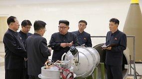 Pasaulis Šiaurės Korėjos vandenilio bombos bandymą sutiko su išgąsčiu