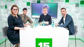 """Eurovizijos"" apžvalga su Lauru Lučiūnu, Dovile Filmanavičiūte ir Alen Chicco: ko tikėtis finale?"