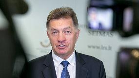 Algirdo Butkevičiaus komentaras dėl koalicijos