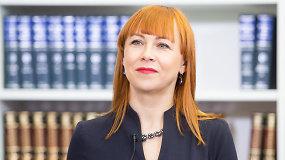 """Jurgita Petrauskienė: """"Per kelis metus į mokytojų atlyginimus bus investuota 96 mln. eurų"""""""