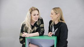 """""""Atspėk, kas dėžėje"""" – metų laida: Natalija Bunkė ir Goda Alijeva cypė, klykė bei bandė pabėgti"""