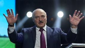 """A.Lukašenka: Baltarusija """"uždaro"""" sieną su Vakarais – pirmiausia su Lietuva ir Lenkija"""