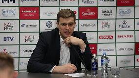 """D.Adomaitis apie ateitį Vilniaus """"Ryte"""": """"Bus pokalbis su vadovybe"""""""