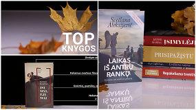 Spalio mėnesio TOP knygos