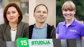 15min studijoje – pokalbis apie tai, kaip įkvėpti lietuvius daugiau judėti?