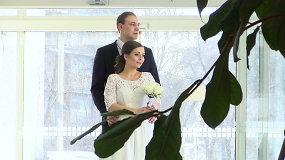 Jaunavedžių antplūdis santuokų rūmuose: kodėl Valentino diena traukia lyg magnetas?