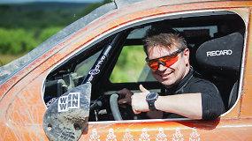 Geriausią lietuvių rezultatą šiais metais Dakare pasiekęs A.Juknevičius: buvome pikti