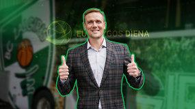 """""""Eurolygos diena"""": atviras R.Javtoko interviu ir palanki prognozė """"Žalgiriui"""""""
