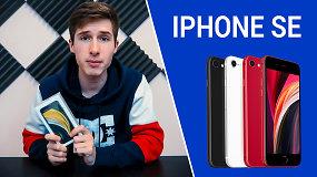 """Išpakuojame naujausią """"iPhone SE"""" su JustSphex: kuo šis telefonas nustebino?"""