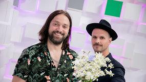 15min premjera: Audrius Bružas ir Leonas Somovas pristatė muzikinį klipą apie vyrišką meilę