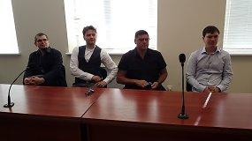 Emilio Vėlyvio su policija atvesdinti neprireikė – režisierius ir trys aktoriai teisme