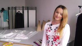 """Savo drabužių liniją kurianti Enrika: """"Tai, ko negali nusipirkti, gali pasiūti """""""
