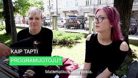 Apklausa gatvėje: ką žmonės žino apie programuotojus?