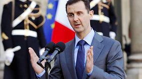 Basharas al-Assadas svarsto, ar padėti Prancūzijai kovoti su ISIS