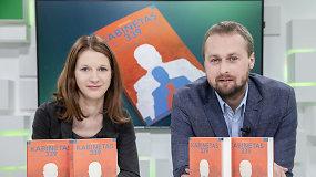 """""""Kabinetas 339"""": D.Pancerovas ir B.Davidonytė papasakojo, kaip gimė politikos užkulisius atskleidžianti knyga"""
