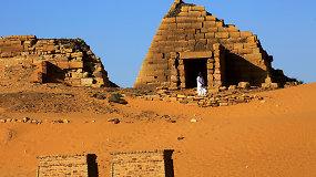 Šalis, kur piramidžių daugiau nei Egipte, o turistų – beveik nėra