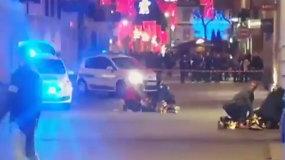 Šaudynės Strasbūro Kalėdų mugėje: 3 žmonės žuvo, sužeistas šaulys paspruko