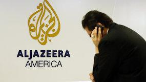 """Dėl pigios naftos ir menko žiūrimumo nebeliks TV kanalo """"Al Jazeera America"""""""