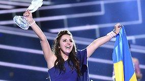 """Ukrainai """"Euroviziją"""" laimėjusi Jamala: """"Kai kalbi tiesą, žmones tai paliečia"""""""