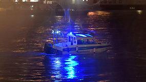 Tragedija Budapešte: nuskendus laivui žuvo septyni turistai – vykdomos 21 dingusiojo paieškos