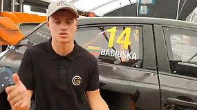 Rokas Baciuška – apie savo pasirodymą WRX pusfinalyje