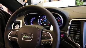 """""""Jeep Grand Cherokee Trackhawk"""" pristatymas Vilniuje"""