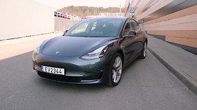 "Pirmas įspūdis: ""Tesla Model 3"""