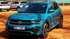 """Mažiausias """"Volkswagen"""" miesto visureigis """"T-Cross"""""""