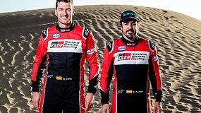 """""""Formulės 1"""" čempionas Fernando Alonso patvirtino, kad su lietuviais dalyvaus Dakaro ralyje"""