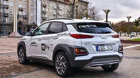 """Renkame tautos automobilį: """"Hyundai Kona Hybrid"""""""