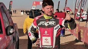 """Greičiausias čekas ir """"Ford Raptor"""" vairuotojas Dakare – Martinas Prokopas"""