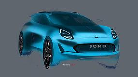 """Naujasis krosoveris """"Ford Puma"""""""