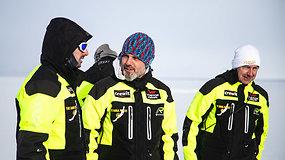 Naujas Karolio Mieliausko iššūkis – ilgiausia kelionė Baikalo ledu
