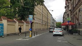Kilpinis eismas Vilniaus senamiestyje: Islandijos gatvė
