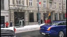 Vasario 16-osios važiuotynės Vilniaus gatvėmis