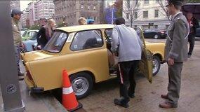 9-asis Rytų Vokietijos automobilių suvažiavimas Vašingtone: pasigrožėkite TRABANT ir WARTBURG