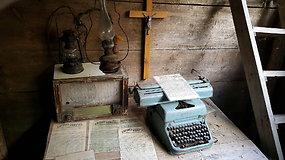 Partizano Juozo Ramanausko-Tigro bunkeris Kasčiūnų kaime, kuriame jis slėpė vadus