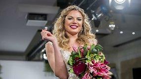 S.Mykolaitytė nusižengė savo taisyklei ir ant podiumo pasirodė su vestuvine suknele