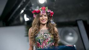 Ingos Miltinienės vestuvinių suknelių kolekcijoje – gėlių dekoras