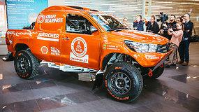 Antanas Juknevičius pristatė naują Dakaro automobilį